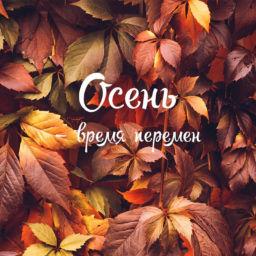 заставки осень
